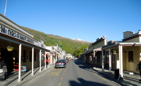 Main street of Arrowtown