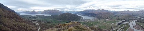 View from Mt Remarkables