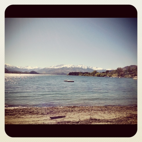 Wanaka on a gorgeous day